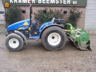 Tractor + grondfrees Nh tce 1.6m breed+celli frais