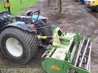 Tractor + rotorkopeg Nh tce 1.6m celli rotor