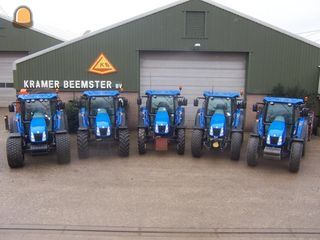 Tractor 5x Newholland 85 tot 105 pk