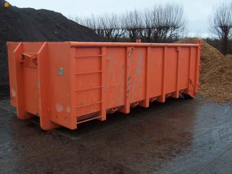 Open containers Haakarm 17m3